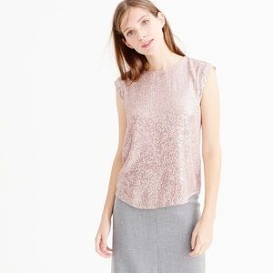 J. Crew Holiday Party Sleeveless Sequin Top 2