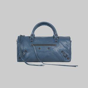 BALENCIAGA Classic Large Twiggy Satchel Bag