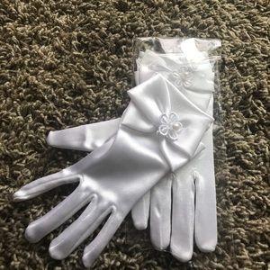 Other - NWT Formal Kids Cotillion/wedding communion gloves
