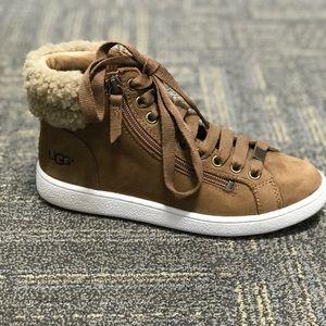 NIB Ugg sneakers with Sherpa lining.