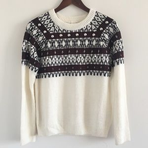 🆕 H&M Embellished Pullover Sweater Size X-Small