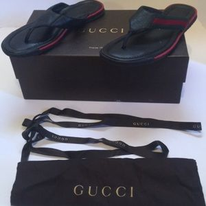Other - Authentic Gucci Flip Flops