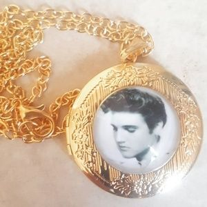 Brand new ! Elvis locket necklace !