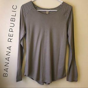 Banana Republic Long Sleeve Top