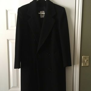Thick wool coat. Black like new! Jones of new york