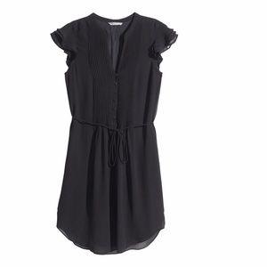 165b2df95c18 H&M Dresses | Hm Black Butterfly Sleeve Dress | Poshmark