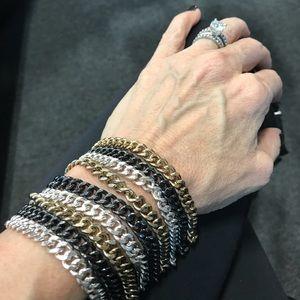 Jewelry - Multi chain bracelet cuff