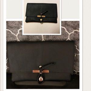 New fashion & Basic Black Clutch - Estilo Sobre