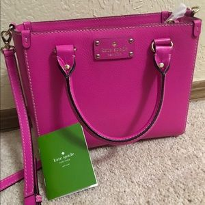 Kate Spade Wellesley Leather Quinn Bag