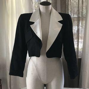 Vintage YSL Cropped Blazer