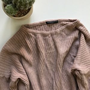 Brandy Melville Pale Pink Sweater