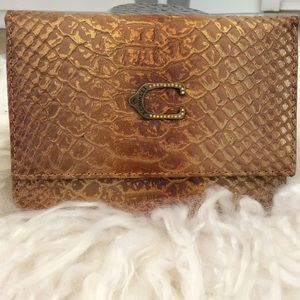 B. Cavalli amazing wallet new with slot tags