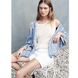 Vince Knit Poncho Cardigan