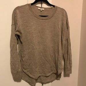 Mauve Pink Madewell Sweater