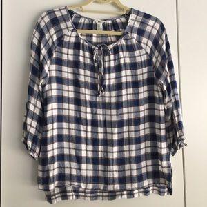 F21 plaid shirt