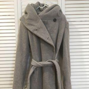 Zara elf hooded wool jacket