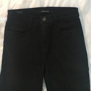 J brand Maria high rise in black size 26