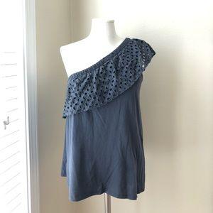 LOFT One Shoulder Knit