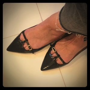Salvatore Ferragamo women's patent leather flats