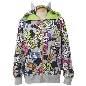 Tokyo disneyland Halloween hoodie jacket