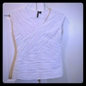 White Milano short sleeved shirt