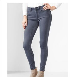 GAP High Rise Skinny 29R