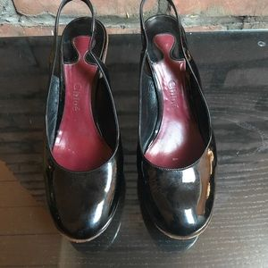 Patent Leather Chloe Slingbacks