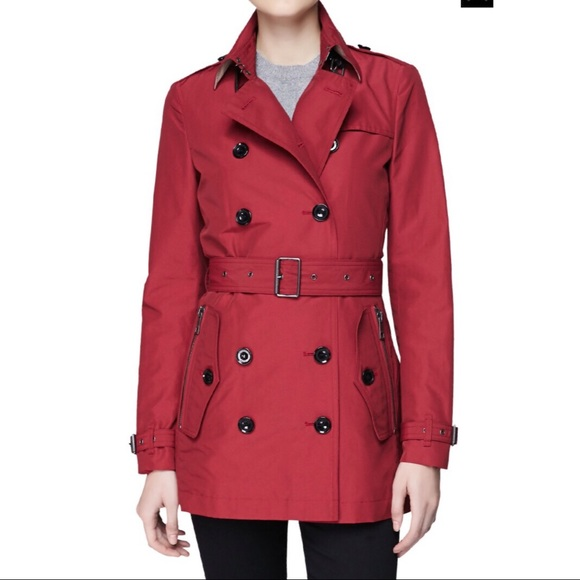 ab455b73acb0 Burberry Jackets   Blazers - Burberry Brit Brooksby Double Breasted Trench  Coat