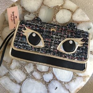 Juicy Couture Cat Clutch NWT