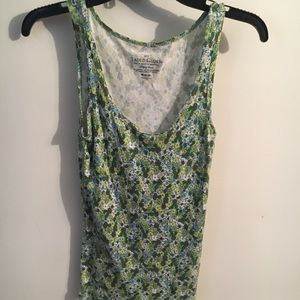 Faded Glory floral tank
