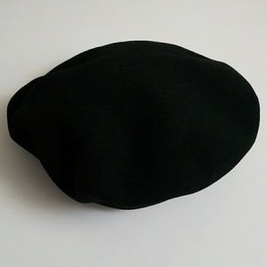 6a51c249 Vintage Accessories | Chantaco Basque Beret Black Wool | Poshmark