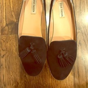 Steve Madden Slipper Shoes with Tassels