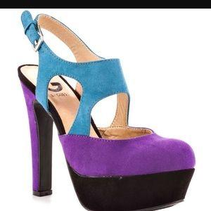 Guess Vonia - Color Block Heels