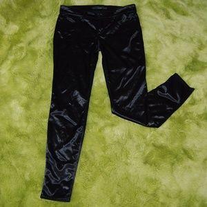 Joe's Jeans Women's Black Shiny Skinny Pants 29