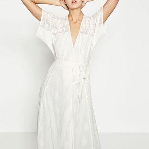 Zara crossover dress