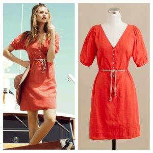🆕{Listing} J.Crew Rumi Dress in Coral