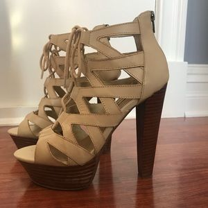Steve Madden DREAMGRL Lace-Up Sandals