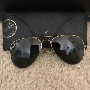 Authentic Aviator Ray-Bans!