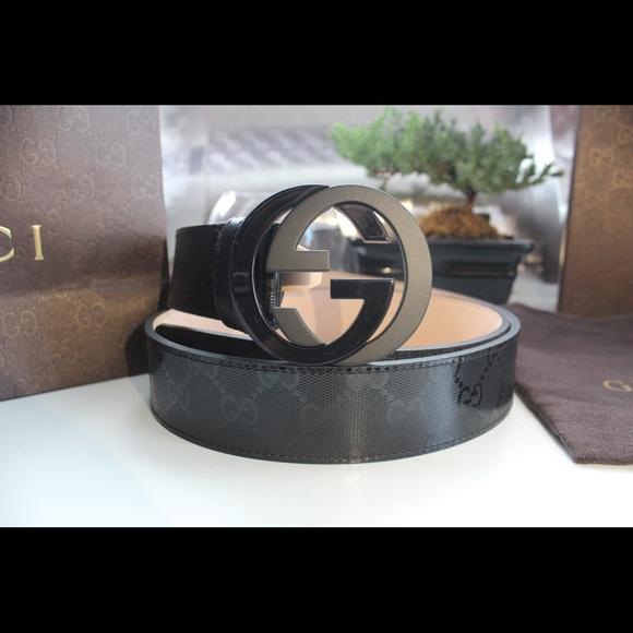 e562ad868d1 Authentic GUCCI belt size 95 38
