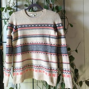 Madewell everyday striped sweater 🍁