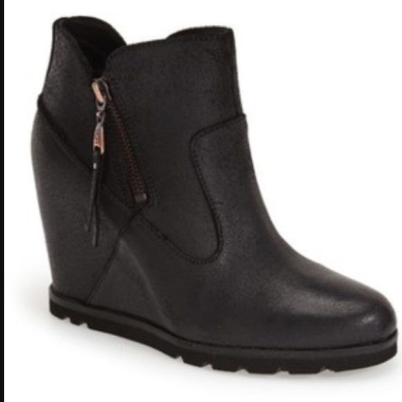 """3124cb8dd2a UGG """"Myrna"""" Wedge Ankle Boots"""