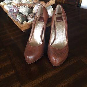 Dolce vita brown heels sz 8