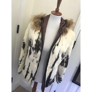 ZARA fur coat - FLASH SALE!