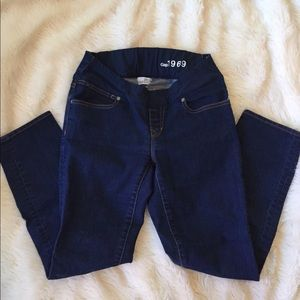 Gap Maternity Skinny Crop Jeans