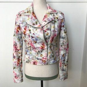 [Zara] Moto Flora Jacket