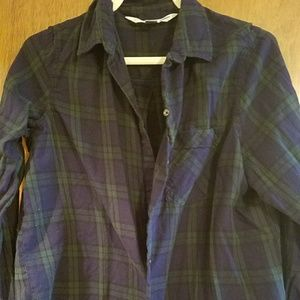 Old Navy classic plaid shirt size XL
