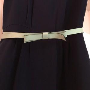kate spade Teal adjustable belt