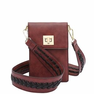 Melie Bianco Brett Vegan Leather Crossbody
