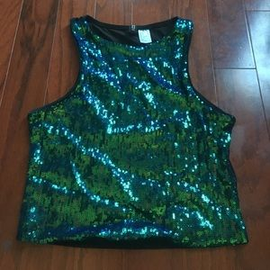 Mermaid sequin too perfect for Halloween!