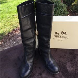 COACH Theresa Riding Boots 8.5B